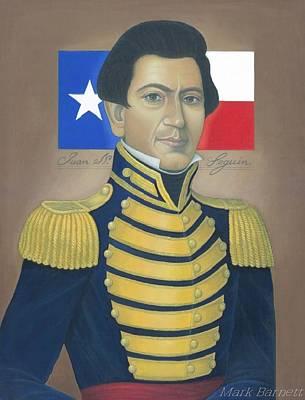 Sam Houston Painting - Juan N. Seguin by Mark Barnett