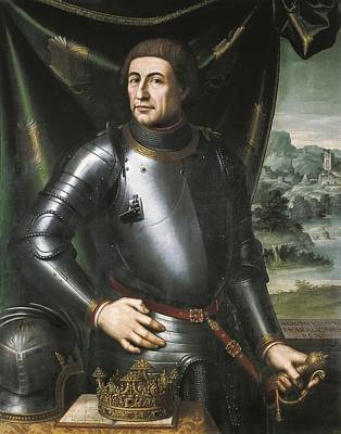 Juanes, Juan De 1523-1579. Alfonso V Print by Everett