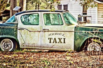 South Louisiana Photograph - Juarez Taxi by Scott Pellegrin