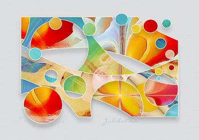 Jubilation Print by Gayle Odsather