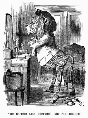 Jubilee Cartoon, 1887 Print by Granger