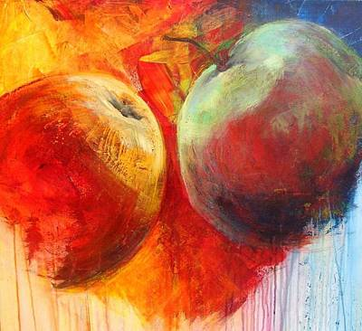 Painting - Jucy Apples by Art Ilse Schill