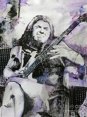 Metallica Mixed Media - Judas Kiss by Chad Rice