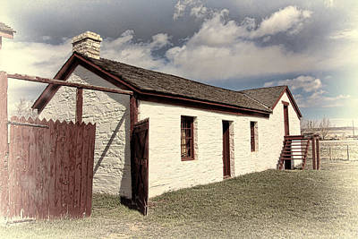Judge Carter's Mess Hall And Meat House Print by Brenton Cooper