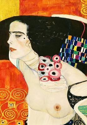 Venice Ca Painting - Judith II by Gustav Klimt