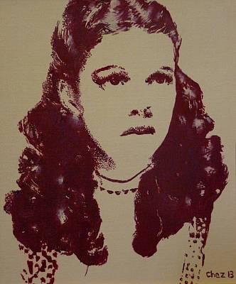 Judy Garland Painting - Judy Garland by Cherise Foster