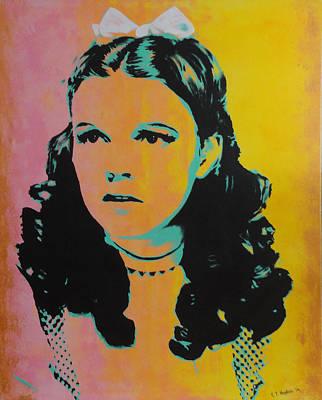 Judy Garland Painting - Judy Garland by Gary Hogben