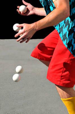 Juggler Print by Diana Angstadt