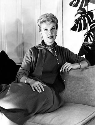 1950s Candids Photograph - Julie, Doris Day, Relaxing by Everett