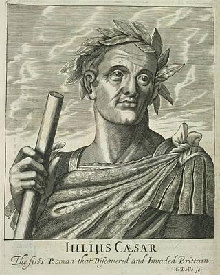 Statesmen Photograph - Julius Caesar by British Library