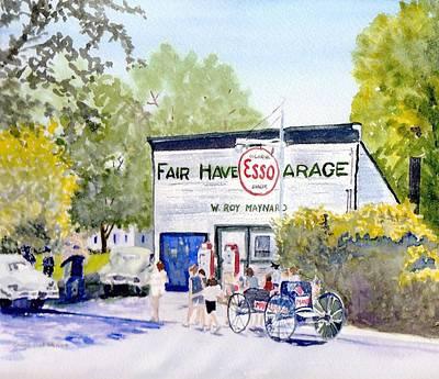 July Fair Haven Ny Print by Carol Burghart