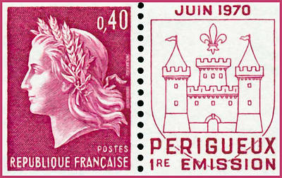 June 1970 Perigueux 1st Issue Print by Lanjee Chee