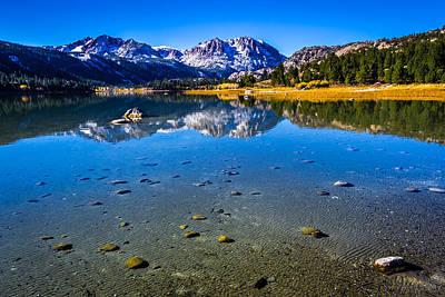 Aspen Tree Fall Colors Photograph - June Lake California by Scott McGuire