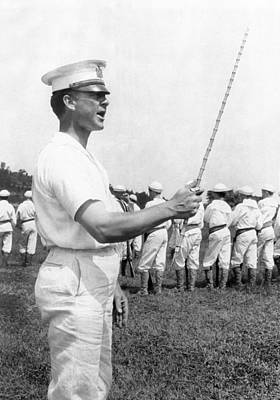 Junior Naval Reserve Training Print by Underwood Archives