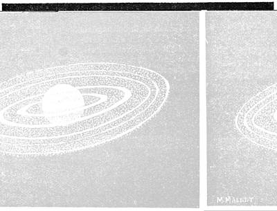 Jupiter And Its Moons, 1893 Print by Science Photo Library