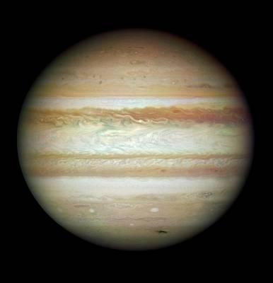 2009 Photograph - Jupiter In July 2009 by Nasa/esa/stsci/ssi/jupiter Impact Team