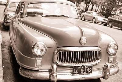 Old Photograph - Just A Cool Old Car by Nathan Hillis