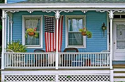 Just A Nice Front Porch Original by Ira Shander