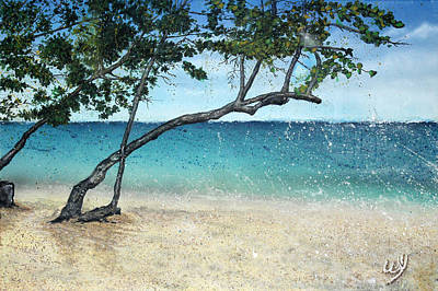Just Beachy Print by Bill Yurcich