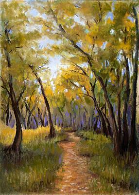 Landscape Pastel - Just Before Autumn by Susan Jenkins