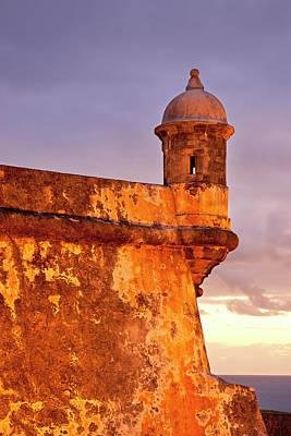 Just Before Dawn At Historic El Morro Print by Brian Jannsen