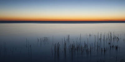 Glass Photograph - Just Before Dawn by Scott Norris