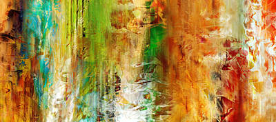 Just Being - Abstract Art Original by Jaison Cianelli