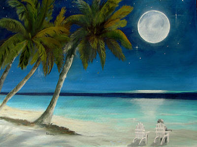 Just Beyond The Moon Original by Sharon Burger