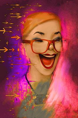 Abstract Realism Digital Art - Just Having Fun by Jeff Burgess