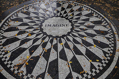 Lennon Photograph - Just Imagine by Garry Gay