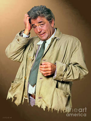 Peter Falk Digital Art - Just One More Thing by Stephen Shub