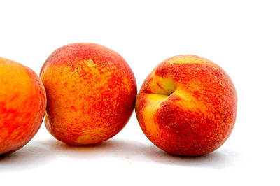 Just Peachy Print by Don Bendickson