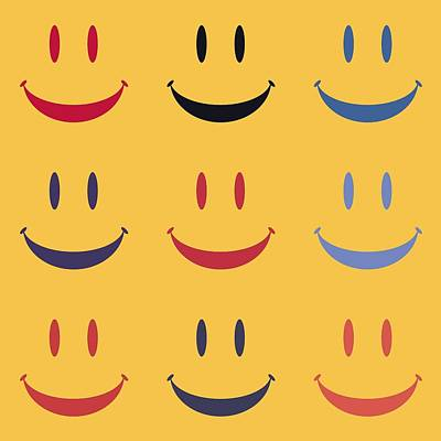 Just Smile Print by Dan Sproul