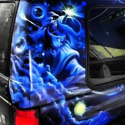 Wizard Photograph - Just.... Yes. #ultimate #van #wizard by Samson Contompasis