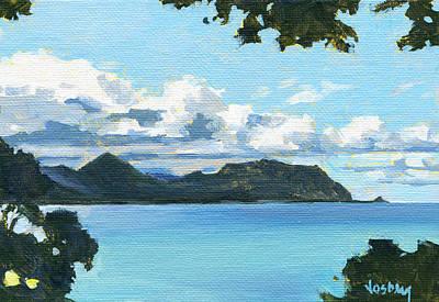 Haleiwa Painting - Kaaawa Oahu by Stacy Vosberg
