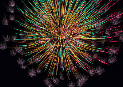 July 4 Digital Art - Kaboom  by Bill Tiepelman