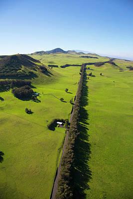 Kahua Ranch Land, Kohala Mountain Road Print by Douglas Peebles