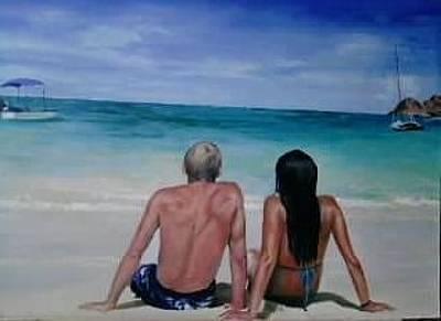Kailua Beach Original by Sergey Selivanov