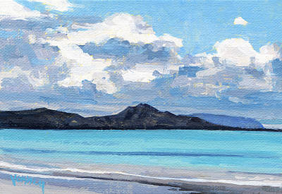 Haleiwa Painting - Kailua Sunset 2 by Stacy Vosberg
