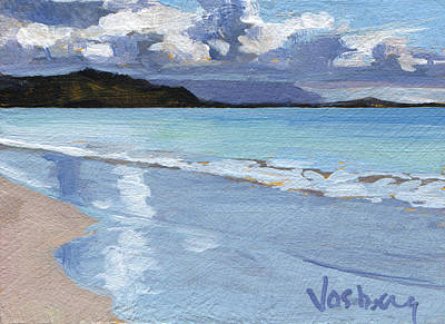 Haleiwa Painting - Kailua Sunset by Stacy Vosberg