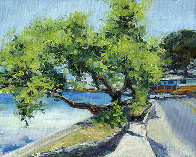 Haleiwa Painting - Kailua Village by Stacy Vosberg