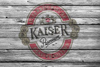 Alcohol Photograph - Kaiser by Joe Hamilton