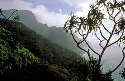 Kalalau Trail  Print by Kathy Yates