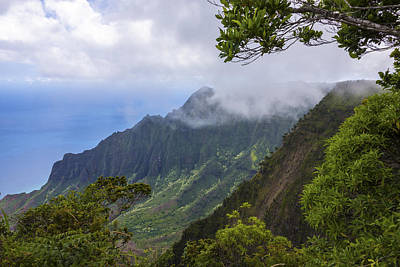 Kalalau Valley 5 - Kauai Hawaii Print by Brian Harig