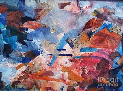 Kaleidoscope Print by Betty Pinkston