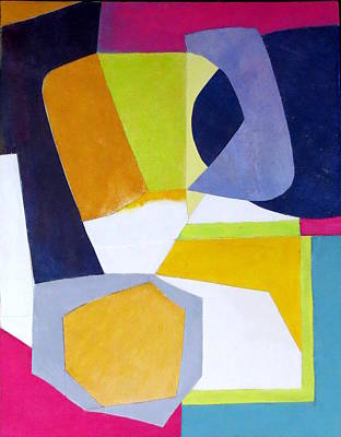 Mixed Media - Abstract Angles Vi by Diane Fine