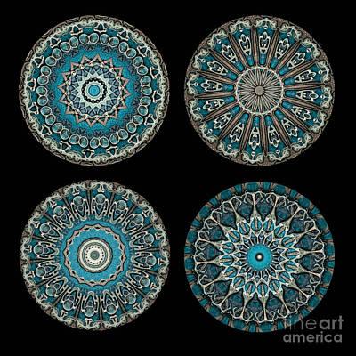 Machinery Photograph - Kaleidoscope Steampunk Series Montage by Amy Cicconi