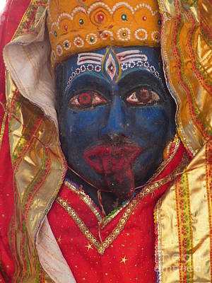 Shakti Photograph - Kali Maa - Glance Of Compassion by Agnieszka Ledwon