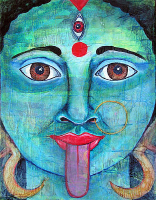 Parvati Mixed Media - Kali by Shelley Bredeson