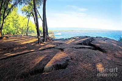 Keaau Photograph - Kaloli Point 3 by Ellen Cotton